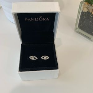 Pandora Earrings - Never Worn
